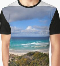 Gunyah/Almonta beaches and Golden Island - best viewed large Graphic T-Shirt