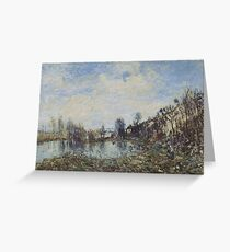 Flooded  Field Greeting Card