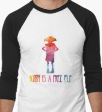 Dobby Is A Free Elf - Colourful Silhouette T-Shirt