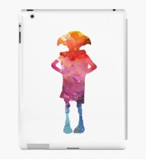 Dobby Is A Free Elf - Colourful Silhouette iPad Case/Skin