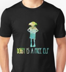 Dobby Is A Free Elf - Colourful Silhouette #2 T-Shirt