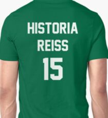 Attack On Titan Jerseys (Historia Reiss) T-Shirt