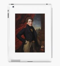 Francois Simoneau , A portrait of The Hon. John Oliphant-Murray iPad Case/Skin