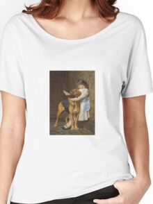Briton Riviere - Reading Lesson Compulsory Education Women's Relaxed Fit T-Shirt