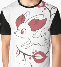 Fennekin Two Tone Graphic T-Shirt