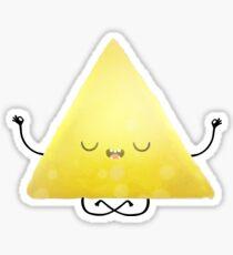 Yoga triangle  Sticker