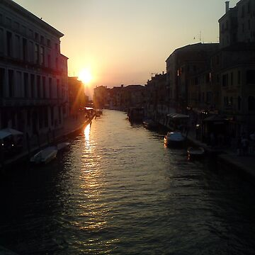Venice at sunset by Bradsite