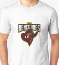 Team LA Renegades logo Unisex T-Shirt