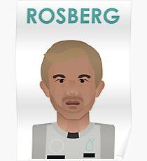 Nico Rosberg 2016 - colour Poster