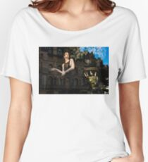 Elegance, Glamour and Chic - High Fashion Shop Window Reflections Women's Relaxed Fit T-Shirt