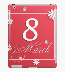 Womans Day iPad Case/Skin