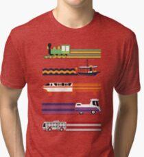 Transportsystem Vintage T-Shirt