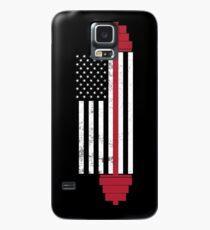 USA Gewichtheben Flagge Hülle & Skin für Samsung Galaxy