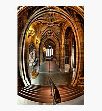 John Rylands Library Manchester Photographic Print