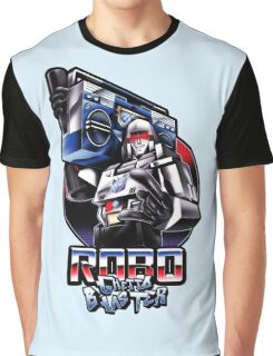 Robo Ghetto Blaster Graphic T-Shirt