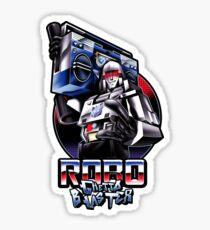 Robo Ghetto Blaster Sticker