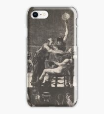 George Wesley Bellows - Between Rounds    iPhone Case/Skin