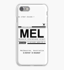 Melbourne, Australia International Airport Print iPhone Case/Skin