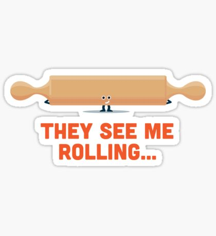 Character Building - Rolling Sticker