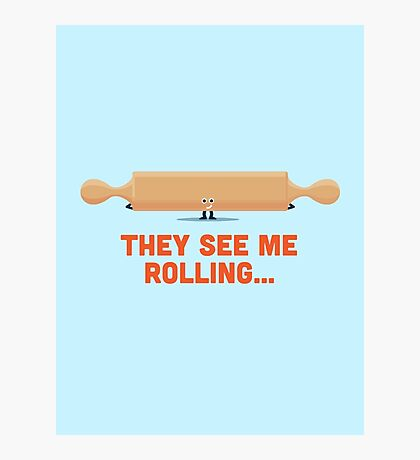 Character Building - Rolling Photographic Print