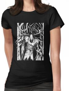 Leshen (White) Womens Fitted T-Shirt