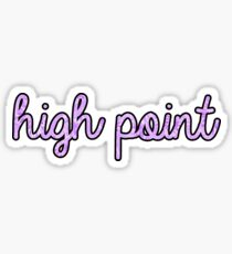 High Point Tie Dye Sticker