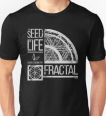 Sacred Geometry - The Seed of life - FRACTAL Unisex T-Shirt