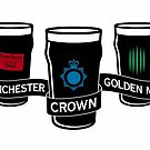 The Winchester, The Crown & The Golden Mile - Variant by byway