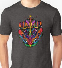 Loudly Colored Psychedelic Mask Unisex T-Shirt