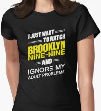 Ignore My Adult Problems.. Women's Fitted T-Shirt