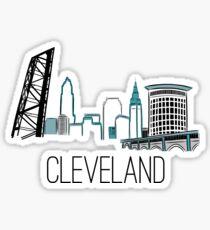 CLE Skyline II Sticker