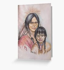 Native New Yorkers Greeting Card