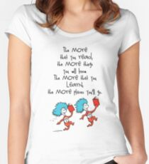 Read Across America Day 2016 Women's Fitted Scoop T-Shirt