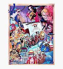 Compilation One Piece Photographic Print