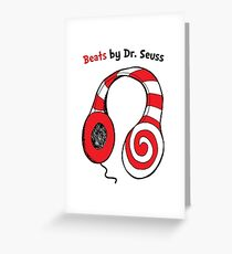 Beats by Dr Seuss - Read Across America Day Greeting Card