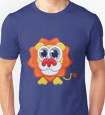Cartoon lion Slim Fit T-Shirt