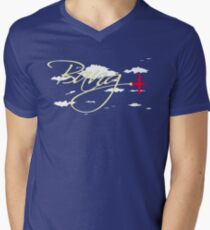Bang in the Clouds! Men's V-Neck T-Shirt