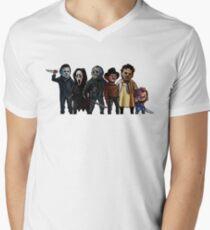 Slasher Squad Men's V-Neck T-Shirt