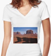 Through The Ages I Exist Women's Fitted V-Neck T-Shirt