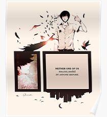 Zankyou No Terror Poster