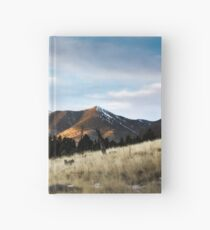 Passing Light on the Mountains Hardcover Journal