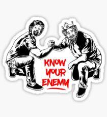 Know your enemy Sticker
