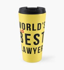 Worlds 2nd Best Lawyer Travel Mug