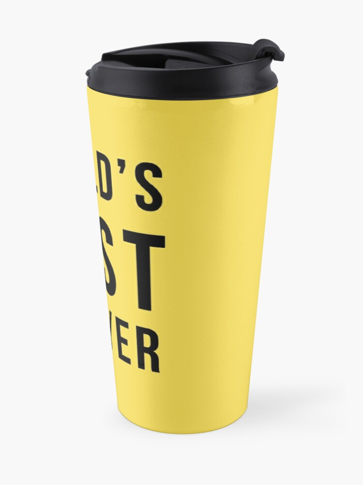 Alternate view of Worlds 2nd Best Lawyer Travel Mug