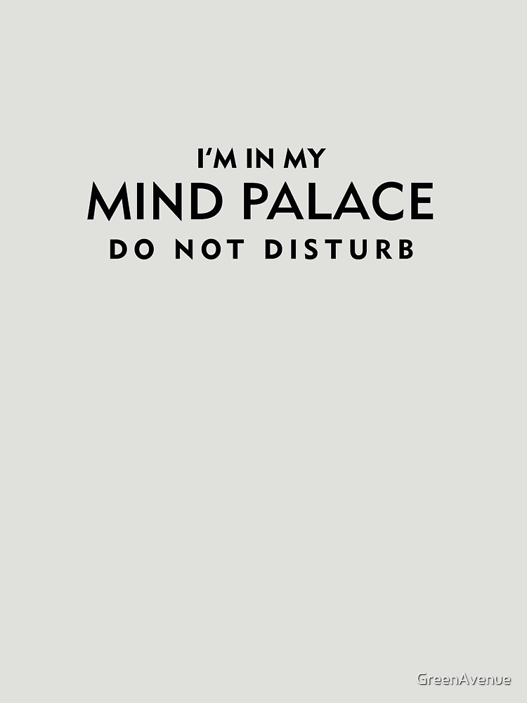 Mind Palace Black von GreenAvenue