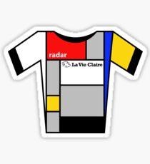 Retro Jerseys Collection - La Vie Claire Sticker