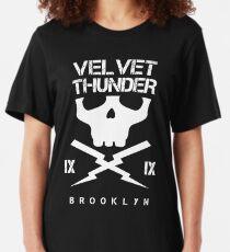 Velvet Thunder Club Slim Fit T-Shirt