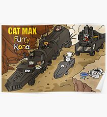 Cat Max: Furry Road Poster