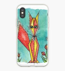Old fox iPhone Case