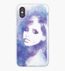 SMG Watercolor Portrait iPhone Case/Skin